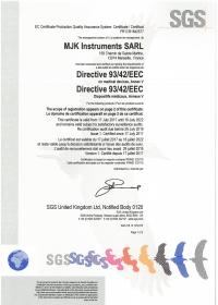 Certificat CE